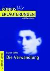 Erläuterungen zu Franz Kafka, Die Verwandlung