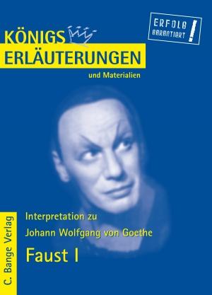 Erläuterungen zu Johann Wolfgang von Goethe, Faust Teil I