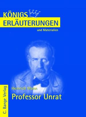 Erläuterungen zu Heinrich Mann, Professor Unrat