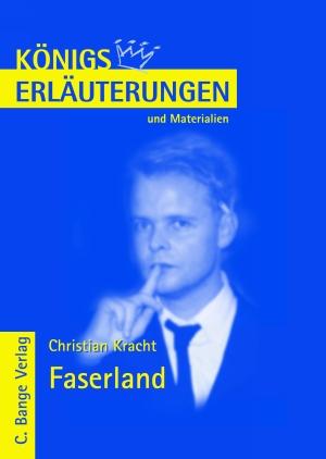 Erläuterungen zu Christian Kracht, Faserland