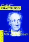Vergrößerte Darstellung Cover: Erläuterungen zu Johann Wolfgang von Goethe, Götz von Berlichingen. Externe Website (neues Fenster)