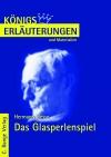 Erläuterungen zu Hermann Hesse, Das Glasperlenspiel