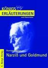 Erläuterungen zu Hermann Hesse, Narziß und Goldmund