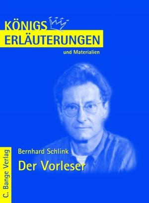 Erläuterungen zu Bernhard Schlink, Der Vorleser