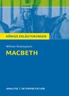 Erläuterungen zu William Shakespeare, Macbeth