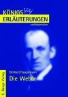Erläuterungen zu Gerhart Hauptmann, Die Weber