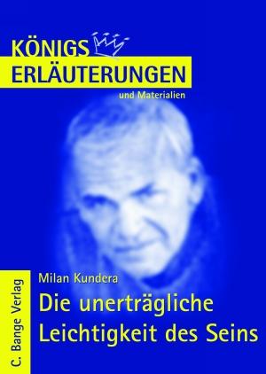 Erläuterungen zu Milan Kundera, Die unerträgliche Leichtigkeit des Seins