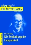 Erläuterungen zu Sten Nadolny, Die Entdeckung der Langsamkeit