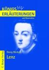 Erläuterungen zu Georg Büchner, Lenz