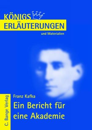 Erläuterungen zu Franz Kafka, Ein Bericht für eine Akademie