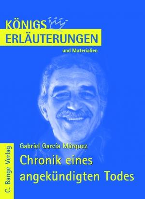 Erläuterungen zu Gabriel García Márquez, Chronik eines angekündigten Todes