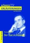 Erläuterungen zu Thomas Mann, Der Tod in Venedig