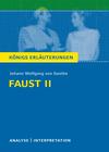 Vergrößerte Darstellung Cover: Erläuterungen zu Johann Wolfgang von Goethe, Faust Teil II. Externe Website (neues Fenster)