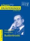 Erläuterungen zu Thomas Mann, Buddenbrooks