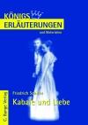 Erläuterungen zu Friedrich Schiller, Kabale und Liebe