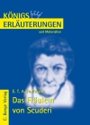 Erläuterungen zu E. T. A. Hoffmann, Das Fräulein von Scuderi