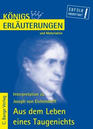 Erläuterungen zu Joseph von Eichendorff, Aus dem Leben eines Taugenichts