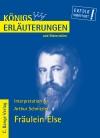 Erläuterungen zu Arthur Schnitzler, Fräulein Else