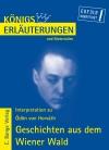 Erläuterungen zu Ödön von Horváth, Geschichten aus dem Wiener Wald