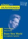 Vergrößerte Darstellung Cover: Erläuterungen zu Aldous Huxley, Brave new world. Externe Website (neues Fenster)
