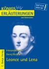 """Erläuterungen zu Georg Büchner """"Leonce und Lena"""""""