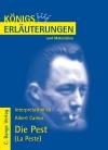 """Erläuterungen zu Albert Camus """"Die Pest"""" (La Peste)"""