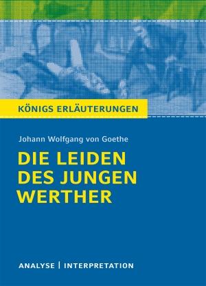 """Textanalyse und Interpretation zu Johann Wolfgang von Goethe, """"Die Leiden des jungen Werther"""""""