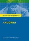 """Textanalyse und Interpretation zu Max Frisch, """"Andorra"""""""