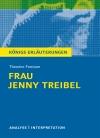 """Textanalyse und Interpretation zu Theodor Fontane, """"Frau Jenny Treibel oder 'Wo sich Herz zum Herzen find't'"""""""