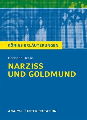 """Textanalyse und Interpretation zu Hermann Hesse, """"Narziss und Goldmund"""""""