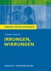 """Textanalyse und Interpretation zu Theodor Fontane, """"Irrungen, Wirrungen"""""""