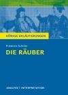 """Textanalyse und Interpretation zu Friedrich Schiller, """"Die Räuber"""""""