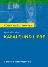 """Textanalyse und Interpretation zu Friedrich Schiller, """"Kabale und Liebe"""""""
