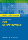 "Textanalyse und Interpretation zu Hermann Hesse, ""Der Steppenwolf"""