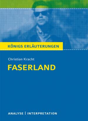 """Textanalyse und Interpretation zu Christian Kracht, """"Faserland"""""""
