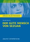 """Textanalyse und Interpretation zu Bertolt Brecht, """"Der gute Mensch von Sezuan"""""""