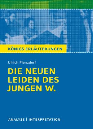 """Textanalyse und Interpretation zu Ulrich Plenzdorf, """"Die neuen Leiden des jungen W."""""""