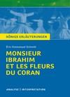 "Textanalyse und Interpretation zu Éric-Emmanuel Schmitt, ""Monsieur Ibrahim et les Fleurs du Coran"""