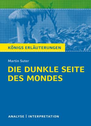 """Textanalyse und Interpretation zu Martin Suter """"Die dunkle Seite des Mondes"""""""
