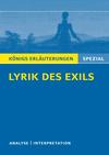 "Textanalyse zu ""Lyrik des Exils"""