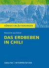 """Vergrößerte Darstellung Cover: Textanalyse und Interpretation zu Heinrich von Kleist, """"Das Erdbeben in Chili"""". Externe Website (neues Fenster)"""