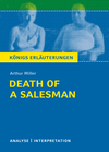 "Textanalyse und Interpretation zu Arthur Miller, ""Death of a salesman"""
