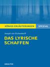 Vergrößerte Darstellung Cover: Erläuterungen zu Joseph von Eichendorff, das lyrische Schaffen. Externe Website (neues Fenster)