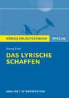 Textanalyse und Interpretation zu Georg Trakl, das lyrische Schaffen