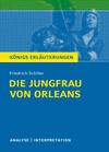 """Vergrößerte Darstellung Cover: Textanalyse und Interpretation zu Friedrich Schiller, """"Die Jungfrau von Orleans"""". Externe Website (neues Fenster)"""