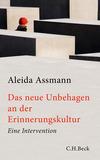 Vergrößerte Darstellung Cover: Das neue Unbehagen an der Erinnerungskultur. Externe Website (neues Fenster)