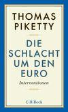 Vergrößerte Darstellung Cover: Die Schlacht um den Euro. Externe Website (neues Fenster)