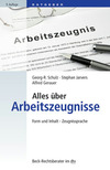 Vergrößerte Darstellung Cover: Alles über Arbeitszeugnisse. Externe Website (neues Fenster)