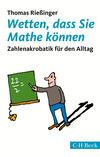 Vergrößerte Darstellung Cover: Wetten, dass Sie Mathe können. Externe Website (neues Fenster)