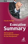 Vergrößerte Darstellung Cover: Executive Summary. Externe Website (neues Fenster)